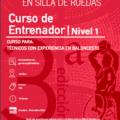 La FMDDF pone en marcha la 3ª edición del Curso de Entrenador de Baloncesto en Silla de Ruedas